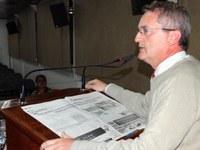 """""""Foi mais uma maquiagem"""", diz Glinski sobre reforma feita no estádio municipal"""