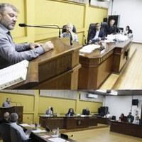 """""""Gratidão"""", essa foi a palavra de discurso do presidente Célio Galeski durante sessão ordinária"""