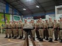 3º BPM realiza formatura simbólica de 29 alunos do Curso de Formação de Soldados