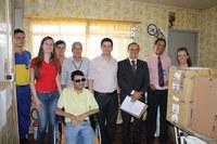 ACD recebe a doação de dez computadores