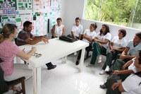 Agentes comunitários de saúde buscam o pagamento do piso nacional