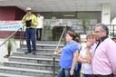 Agricultores protestam contra as quedas de energia elétrica na região de Canoinhas