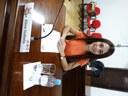 Aline sugere reprodução do Hino de Canoinhas nas sessões da Câmara Mirim