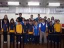 Alunos de Escola do Interior Visitam a Câmara de Canoinhas