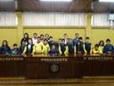 Alunos de escola municipal realizam visita de estudos à Câmara de Canoinhas