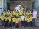 Beto Passos visita escola e conhece projetos educacionais