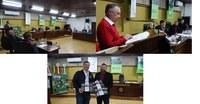 Câmara de Vereadores de Canoinhas sediou lançamento de livros com tema Erva-Mate