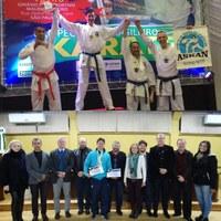 Campeão Brasileiro em Kumitê visita Vereadores de Canoinhas