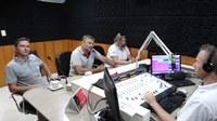 Célio Galeski convida prefeito de Timbó Grande, Ari Galeski para fazer uso da Tribuna, e apresentar projeto de Asfalto para a SC 120