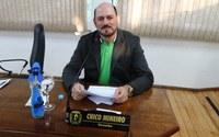 Chico Mineiro comenta em sessão sobre término de obra do Mercado Público Municipal