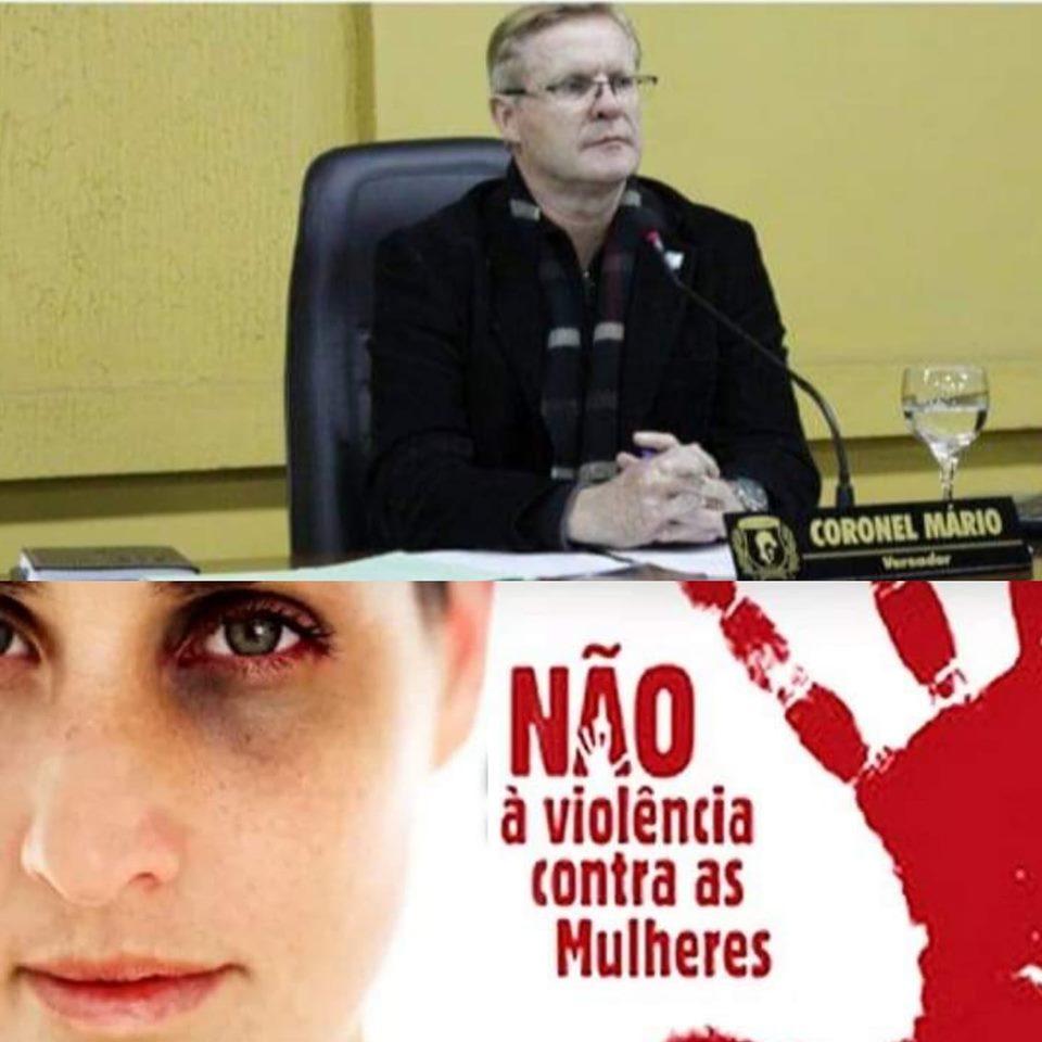 Coronel Mário apresenta Projeto de Lei, sobre prevenção  à violência contra a mulher.