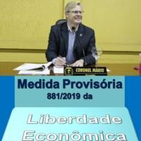 Coronel Mário encaminhou anteprojeto de Lei para facilitar a geração de emprego e renda em Canoinhas