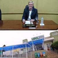 Coronel Mário solicita implantação de rede wifi na Unidade de Pronto Atendimento (UPA)