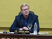 Coronel Mario solicita informações sobre normas referentes a bens patrimoniais