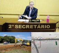 Vereador Coronel Mário solicita melhoria no acesso ao Bairro Boa Vista
