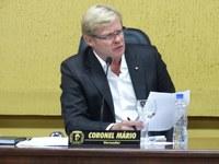 Coronel Mario solicita prorrogação de prazo para pagamento de IPTU com desconto