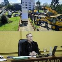 Coronel Mario, solicita treinamento para servidores que irão operar novas máquinas da Prefeitura