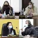 Indicações e Requerimentos: em Sessão ordinária Vereadores Tati, Juliana, Zenilda e Homer solicitam melhorias para Prefeito e Secretários