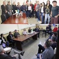 Moradores fazem reunião com Vereadores para pedir melhorias na Rua Otto Friedrich em Canoinhas
