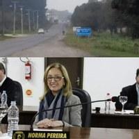 Norma Pereira pede melhorias na SC 477 para atender moradores da Cohab II