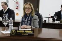 Norma Pereira solicita informações sobre melhorias na Praça João XXIII do Alto das Palmeiras