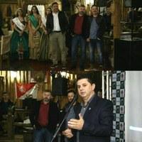 Presidente da Câmara de Vereadores Célio Galeski participa do lançamento da 23ª Fesmate