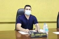 Presidente da Câmara de Vereadores Gil Baiano solicita ao Deputado Coronel Mocellin ambulância para o Corpo de Bombeiros de Canoinhas