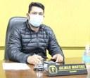 Presidente da Câmara de Vereadores vereador Gil Baiano faz reivindicação a Celesc
