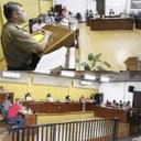 Presidente da Câmara, Gil Baiano, e vereadores destacam trabalhos e atendimentos da Polícia Militar de Canoinhas