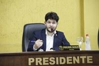 Presidente Paulinho Basílio apresenta requerimento de Apoio à PEC da Reforma Tributária