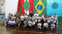PROERD forma 915 crianças em Canoinhas