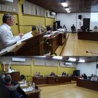 Representante do Comitê do Rio Canoinhas faz uso da Tribuna para explicar questionamento de vereadora