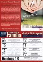 Semana da Família será comemorado em Canoinhas com abertura na Câmara de Vereadores na terça-feira dia 6