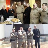 Vereador Coronel Mário prestigia visita do Comandante e do Sub Cmt Geral da Polícia Militar e faz reinvindicações