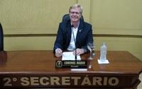 Vereador Coronel Mario protocola dois pedidos de relevância para Canoinhas e região