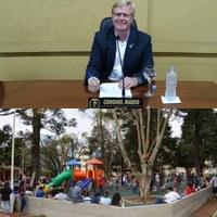 Vereador Coronel Mário solicitou informações sobre a reforma da Praça Lauro Muller