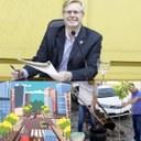 Vereador Coronel Mário solicitou projeto de arborização para as ruas que receberão novas pavimentações