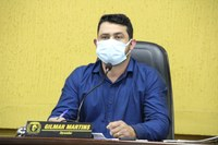 Vereador e Presidente da Câmara Gil Baiano faz reivindicações para o interior de Canoinhas e centro