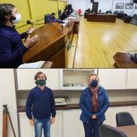 Vereador Marcos Homer visita Unidade do DNIT em Mafra