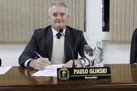 Vereador Paulo Glinski fala do Projeto Constrói Canoinhas recém-chegado à Câmara de Vereadores