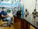 Vereador Willian Godoy participa de reunião com o prefeito e com representantes do IFSC