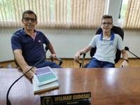 Vereador Wilmar recebe parlamentar mirim