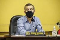 Vereador Wilmar Sudoski desabafa em sessão quanto as empresas que fazem serviços de má qualidade ou até abandonam as obras no município