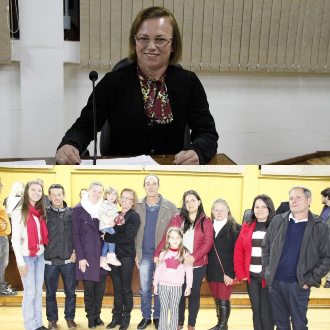 Vereadora Beatriz Scholze (PL) assume uma cadeira na Câmara de Vereadores de Canoinhas