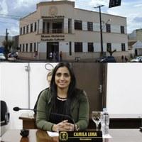 Vereadora Camila Lima requer reforma da biblioteca pública