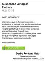 Vereadora não falou inverdades sobre Cirurgias Eletivas