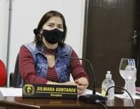Vereadora Silmara Gontarek destaca visitas com prefeito e secretários no interior durante a sessão