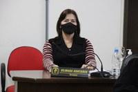 Vereadora Silmara Gontarek em sessão solicita verba para Deputado
