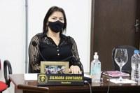 Vereadora Silmara Gontarek puxa discussão para melhorias na BR 280 Trevo do Parque de Exposições