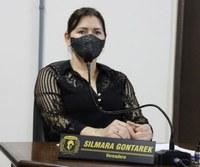 Vereadora Silmara Gontarek solicita novo abrigo de passageiros para localidade de Barra Mansa
